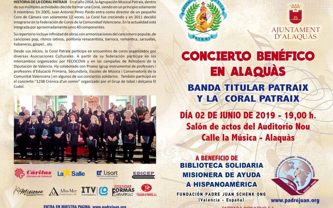 La Biblioteca Solidaria Misionera Organiza un Concierto Solidario en Alaquàs