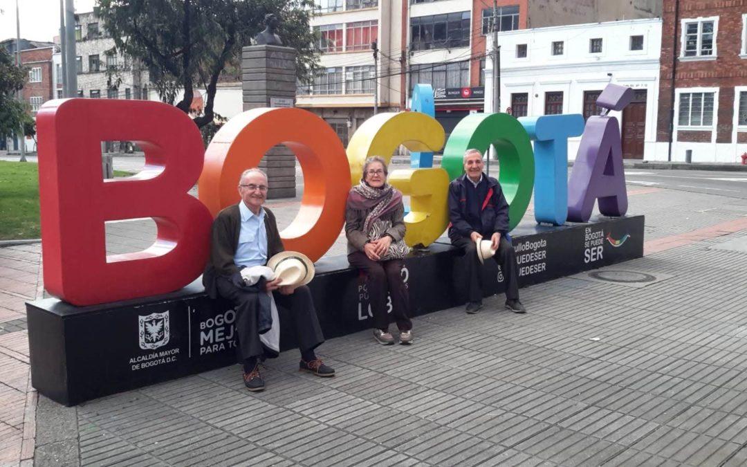 Nuestro secretario viaja a Colombia