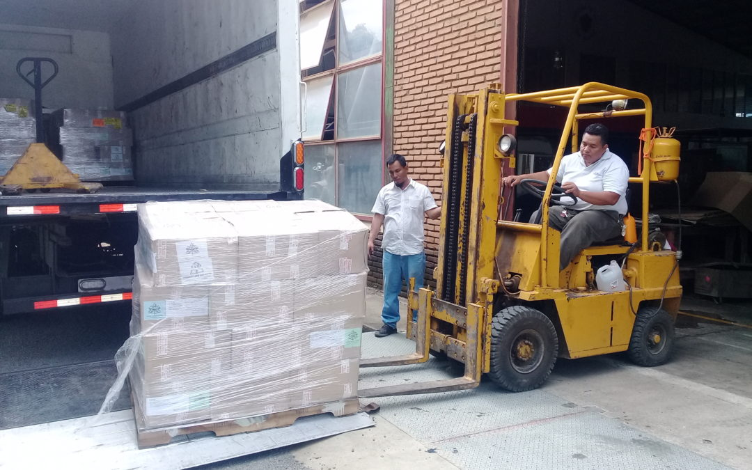 El envío de libros a Nicaragua ha llegado a destino