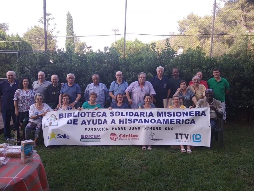 Reunión de voluntarios en Gilet (Valencia) España, el 9 de julio del 2019