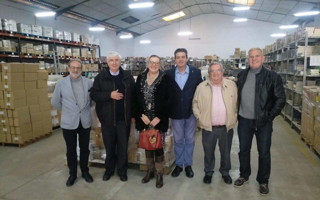 Visita Rotaris a nuestra sede almacén de Alaquás