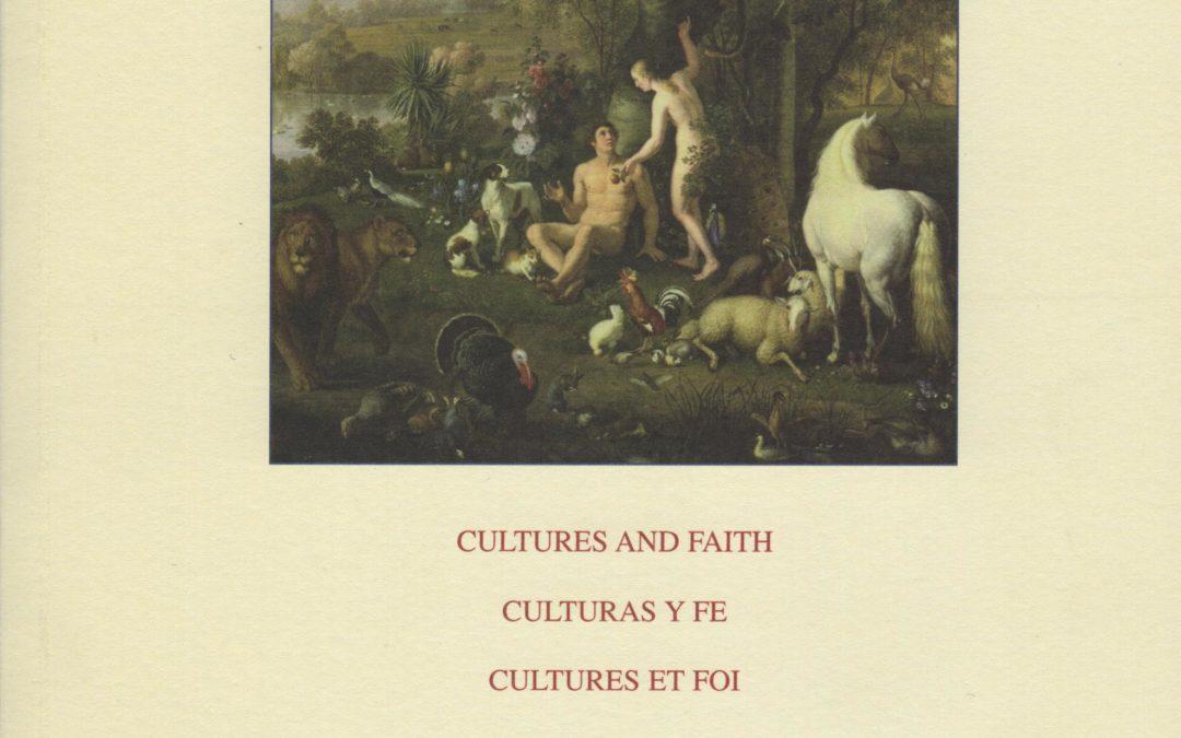 Revista CULTURA E FEDE – Pontificium Consilium de Cultura CIVITAS VATICANA