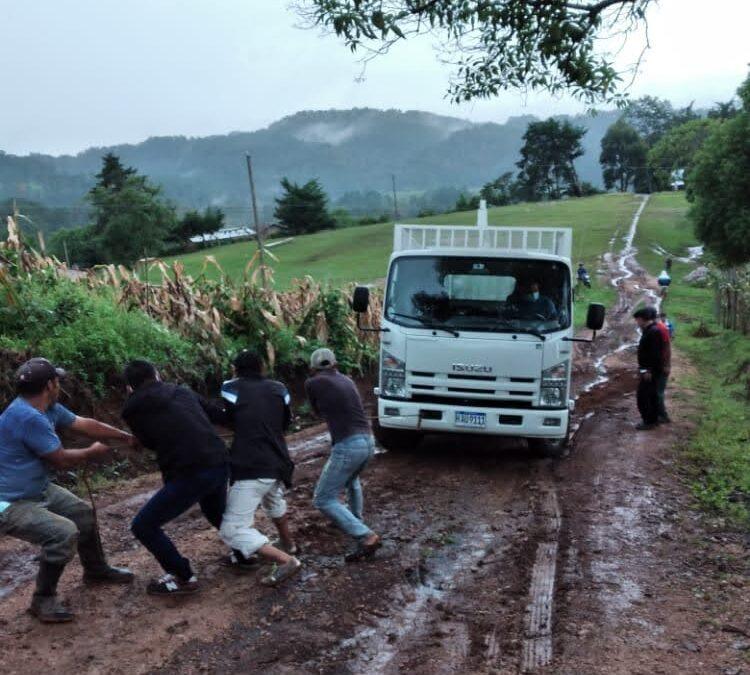 Recibido nuestro material en Tegucigalpa (Honduras)