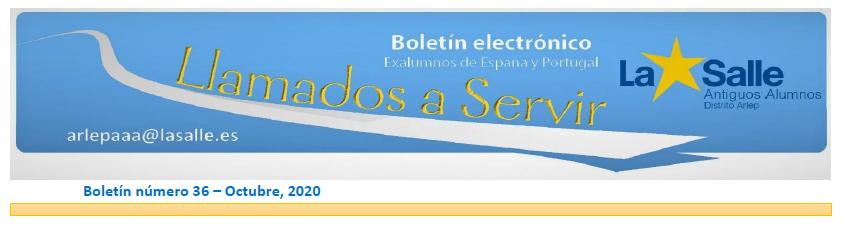 Artículo sobre la Biblioteca Solidaria Misionera aparecido en el boletín electrónico 36 de octubre 2020 de La Salle