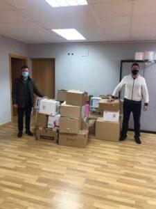 Loriguilla dona varias cajas de libros a la Biblioteca Solidaria Misionera