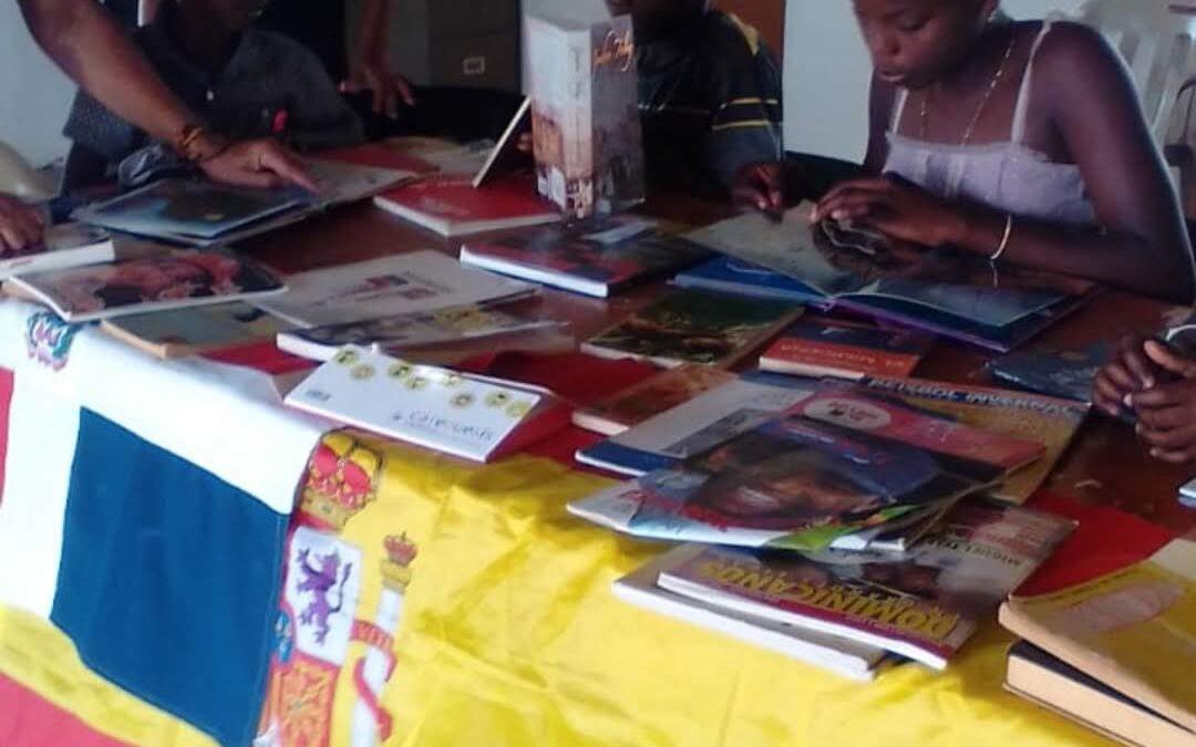 Están llegando libros a República Dominicana