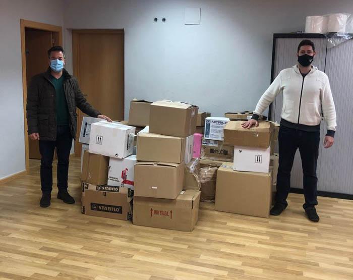 El Ayuntamiento de Loriguilla dona libros a la Biblioteca Solidaria Misionera