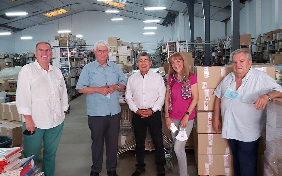 Hemos recibido la visita de los representantes de la Federación Colombiana de Municipios