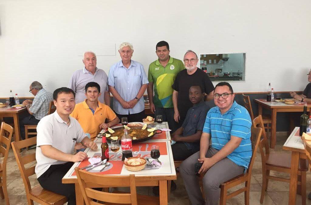 Nos visita un grupo de seminaristas China, Tanzania, Nicaragua, Brasil, México y Benaguacil